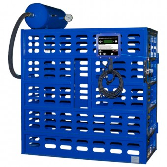 Защитная клеть для накачки колес грузовых автомобилей КЗ-11 СТОРМ